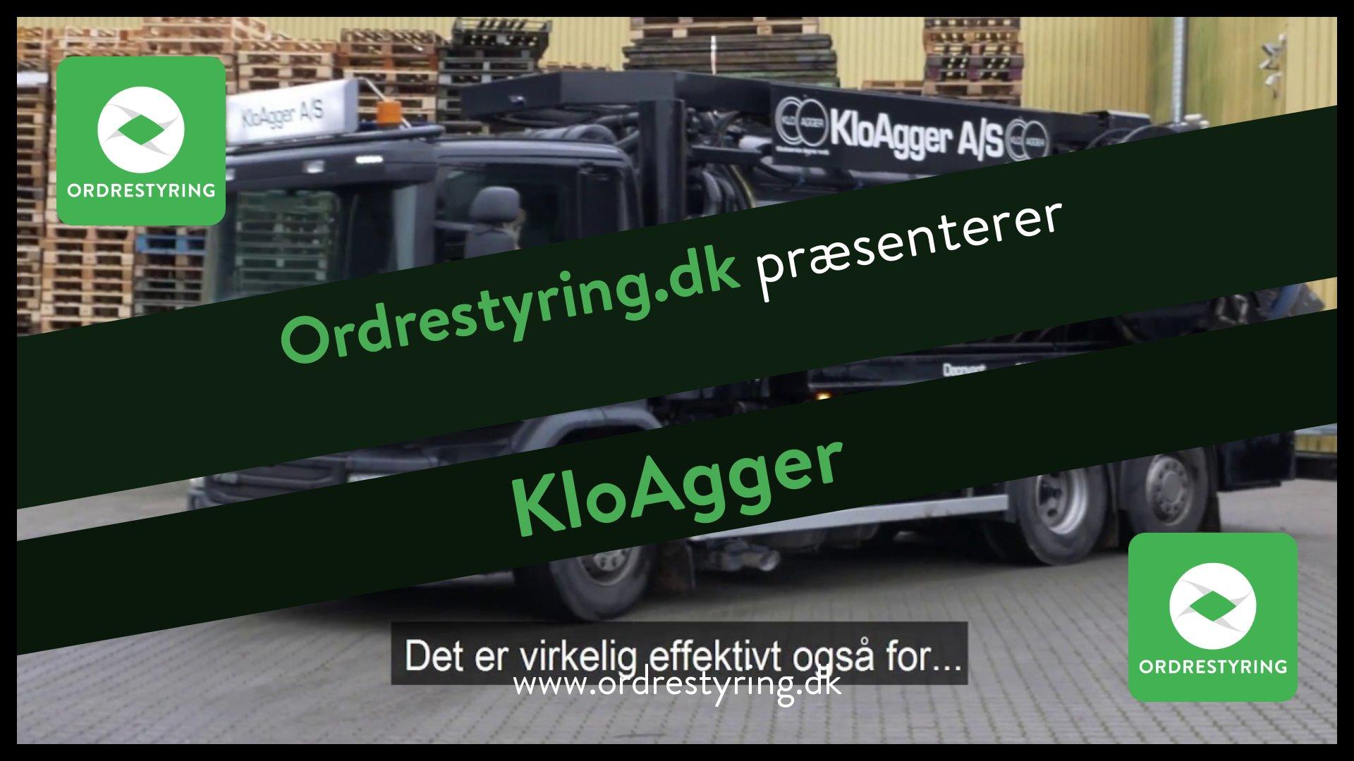 Ordrestyring – KloAgger
