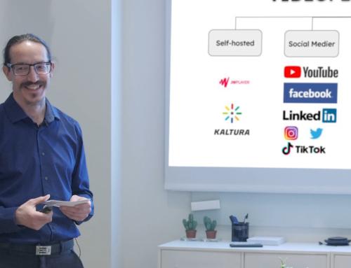 Videooplæg: Værd at vide om videoplatforme