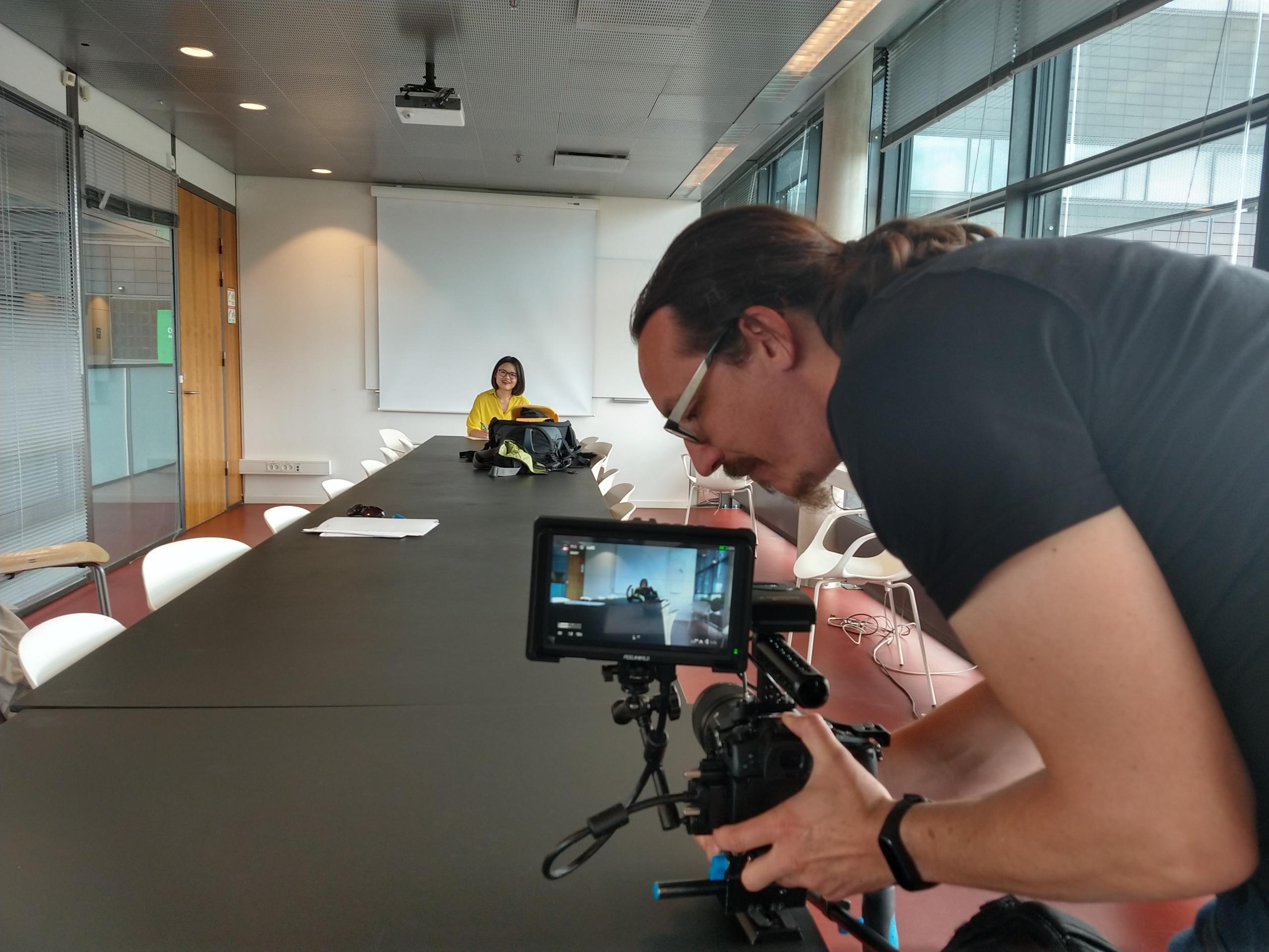 Augenblick Film: Optagelse - videoproduktion