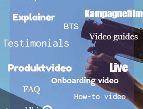 Sådan bruger du forskellige videotyper til at understøtte kunderejsen
